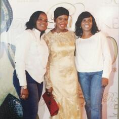 Nike, Ronke & Debisi ... Beautiful memories