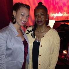 Ramona and Ma Smith at Carolyn's show in NY. What a great night, we partied into the late night/early morning.