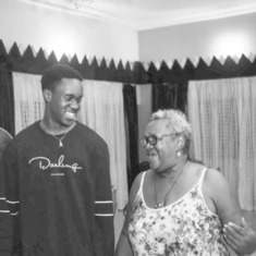 Mum with Ikemezue, Okenna's son