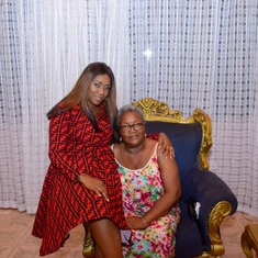 Mum with Oma