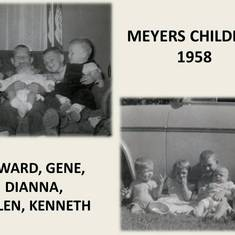 Meyers Children in 1958