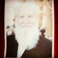 My beautiful, white bearded Daddy, just the way I remember him now and forever.