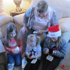 Granny with Madison, Kennedy & Camryn