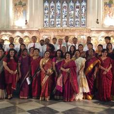 The Diocesan Bicentenary Choir for the Closing Celebrations - December 2015