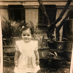 Probably taken at age three (1951)
