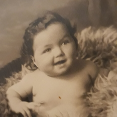 Baby Ann. Wishes for a good and long life were richly fulfilled.
