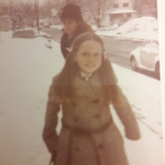 always loved the snow...and great coats!