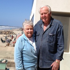 Mom and Dad in Oceanside