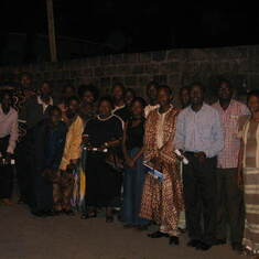 Group photograph, LAUTECH Alumni (Lagos Branch) Inauguration - 22 August 2004, Lagos.