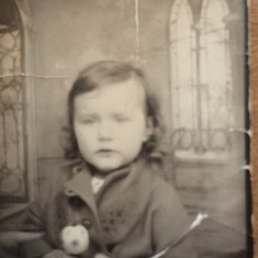 Mom, around 1937. Adorable...