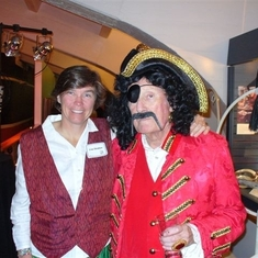 Barry and Lisa - pirates -2007