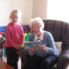 Reading time with Grandma 3