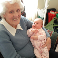 Grandma with Abi White
