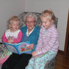 Reading time with Grandma 2