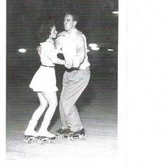 Mother Dance Skating with Daddy in Tulsa, OK
