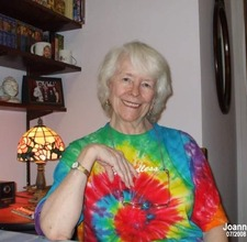Billie Joan Buller relaxing at home, Van Nuys, CA, 2008. Billie never lost her incredible sense of style.