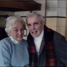 Bruce's parents, Chip and Freda, who he held very dear.