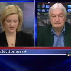 "Bruce on NECN ""Disecting the Democratic Debate."" 2008"