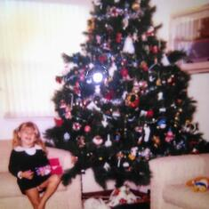 Christmas time was always the most fun.. this was in Boca, where Brynn grew up.