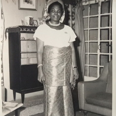 Mummy Caroline Aduke in the 70s.