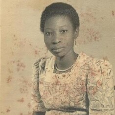 Mum in her early days