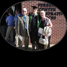 Dono Tippett's Baylor Graduation May 2011