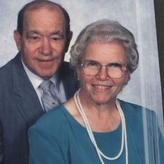 Mary Allen (Charles older sister) and her husband Bob Allen
