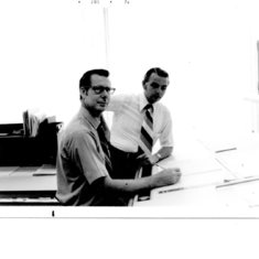 Charles Tippett and Vern Venson at E&E Insurance  003