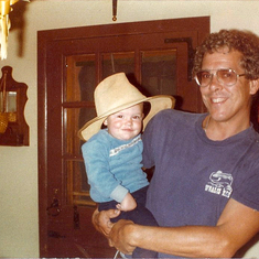 Me and Dad 1981