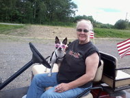 My mom camping at colden lakes with her baby diamond, with her amazing Goggle's, lol