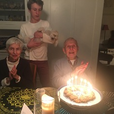 Chet's 89th birthday- Mill Valley, CA