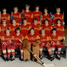 Chris's (top row, 3rd from the right) DU Pioneers Teammates