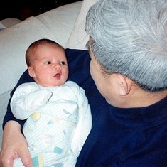 Chris and his Grandfather...