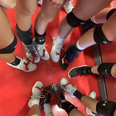 Thank you to the Fruita Monument Girls Volleyball team for honoring Connor with the red ribbons
