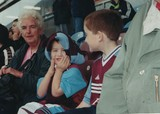 Dan's first Burnley game aged 4