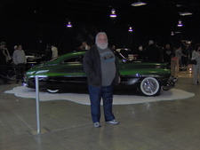 Darrell and his prize winning Merc