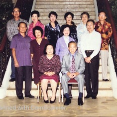 Ho Family Reunion in February 2000