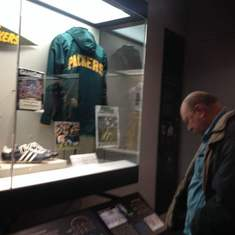 At the Packer Hall of Fame.