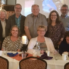 We all gathered at Pulaski Inn after friend Connie Michalski's funeral May 2019