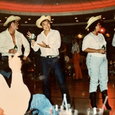 Royal Caribbean Cruise 1990, beer chugging contest - Dave won!