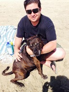 David and his Ava- August 27, 2015 David rescued Ava from a LV shelter in 2005; they were inseparable! ❤️