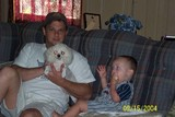 bubba with Collin and prissy
