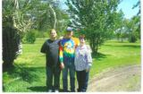 This was the last picture that we took together, My dad my son and me, love it so much and miss them both so very much