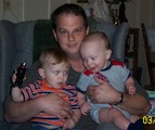 Bubba with Collin and David