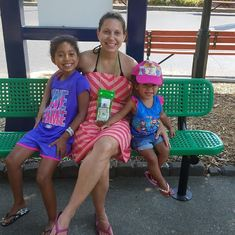 your sister sheena and your nieces mariah and amaya