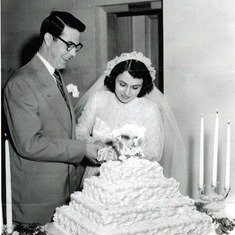 Mommy and Daddy Wedding May 27th, 1951