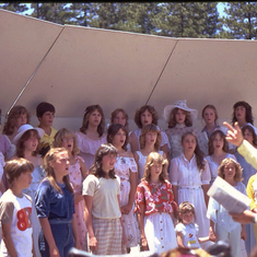 Mary Putnum Henck Junior High Choir, 1980.