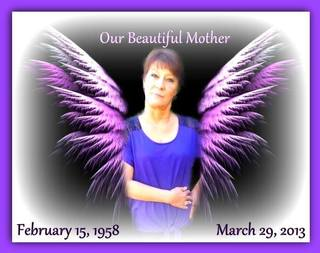 Our sweet loving mother...always in our hearts forever, until we meet again.♥