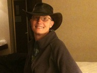 deb in cowgirl hat
