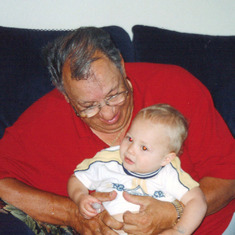 Dom & Great-grandson Dylan